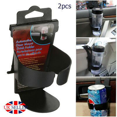 2X Car Cup Holder Mount Water drink Bottle Can Mug Stand holders Convenient