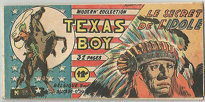 C1 TEXAS BOY # 32 1949 Modern Collection TEX WILLER Galleppini TRES RARE