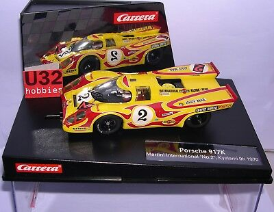 Carrera Evolution 27498 Porsche 917K #2 Kyalami 9H 1970 Martini International Mb