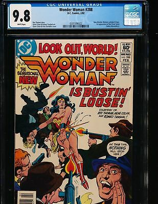 Wonder Woman #288 CGC 9.8 1st Appearance of Silver Swan