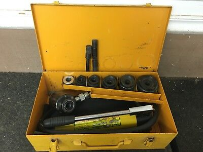 Central Hydraulics  96718 14 Piece Hydraulic Punch Driver Kit