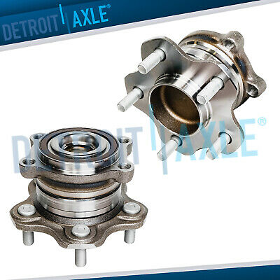 Pair of Rear Wheel Hub for 2007 2008 2009 2010 2011 2012 Nissan Altima 13 Coupe