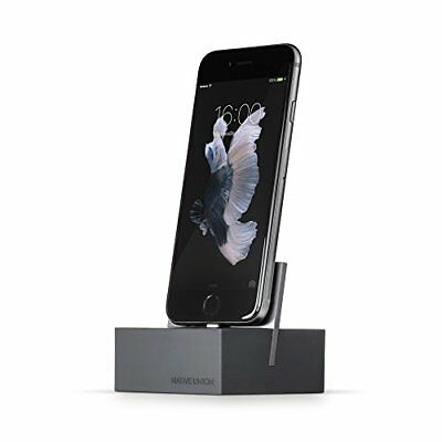 Native Union DOCK for iPhone or iPad - Weighted Charging Dock- Pick SZ/Color.