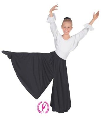 13696c Child Palazzo Pants by: Eurotard for Lyrical/Praisewear