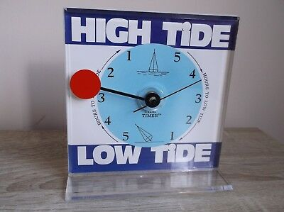 low Tide high tide Clock timer  Nautical