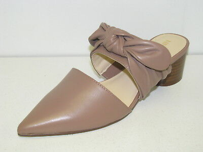 Women's Nine West Pointy Toe Mule - Zeal - Natural Leather - New in Box!!