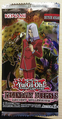 Yu-Gi-Oh!  Legendary Duelists: Ancient Millennium Booster, Deutsch, 1. Auflage