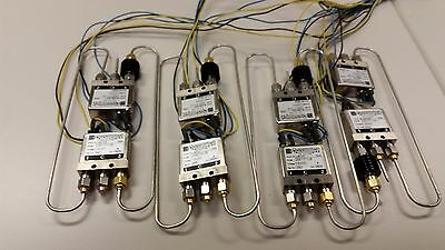 Lot of 8 RF 2SE1T11JC Relay SMA DC to 26.5 GHz 12 Volt DC Ducommun Ships F/USA