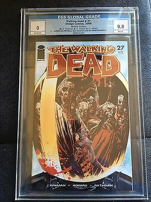 Walking Dead #27 Robert kirkman EGS CGC PGX First Governor
