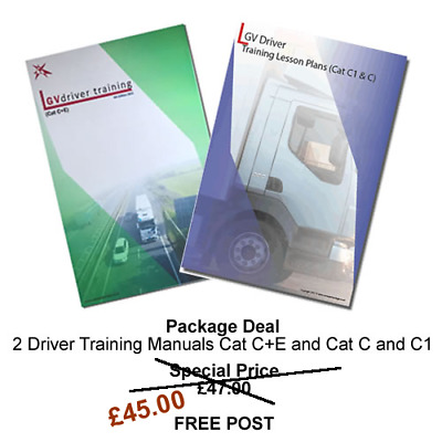 DRIVING INSTRUCTOR LESSON PLANS Cat C+E - C and C1