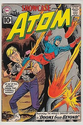 SHOWCASE #35 VERY GOOD- CONDITION 2nd GIL KANE ATOM!