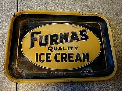 Vintage Furnas Ice Cream Tray Original