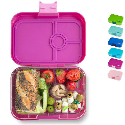 yumbox panino brotdose f r kinder lunchbox bento box 4 f cher und in 7 farben eur 32 90. Black Bedroom Furniture Sets. Home Design Ideas