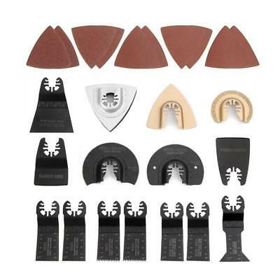 WORKPRO 25-piece Oscillating Multitool Accessories Saw Blades Quick Release...