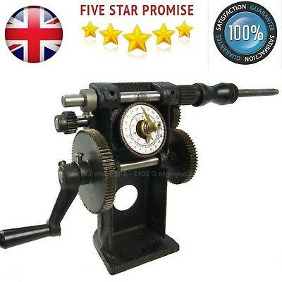 Manual Double Coil Winder Hand Dual Number winding machine Winder Guitar Coil UK