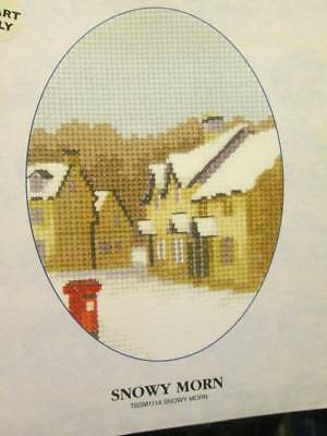 Snowy Morn Cross Stitch CHART-Thomas Beutel/Heritage Crafts