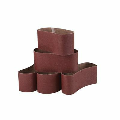 "10 PACK Sanding Belts 3"" x 21"" General Purpose 40 Grit Extra Coarse"