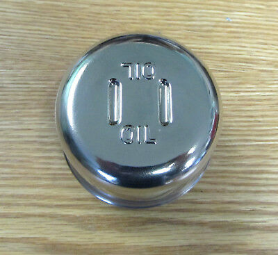 1955 1956 1957 58 - 64 Chevy Oil Filler Cap 8 Cyl Polished Stainless Steel