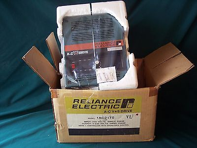 RELIANCE ELECTRIC A-C VS DRIVE  1AC2175 *** New In Box ***