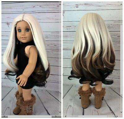 10-11 Custom Doll Wig fit Blythe American Girl 1/4 Size BELLIZA bn1