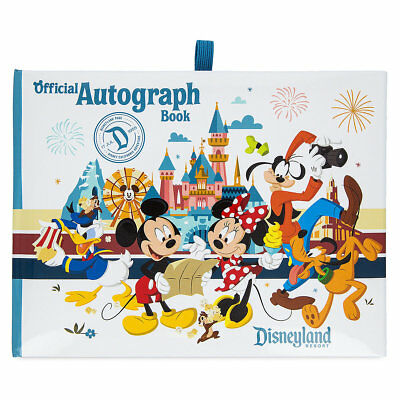 Brand New 2018 Official Disneyland Parks Autograph Book Exclusive Mickey Gang