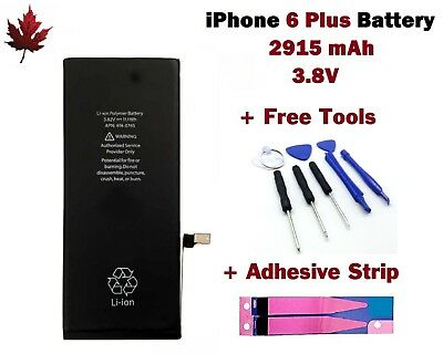 Brand New iPhone 6 Plus Replacement Battery With Repair Tools & Adhesive Strip