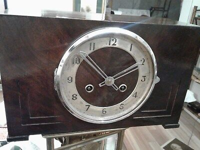 Antique Clock Made By The Fleet Time Company