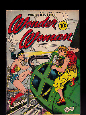 Wonder Woman 11 Nice Condition Staples Reinforced?