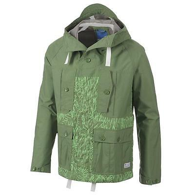 ADIDAS Men Originals JUNGLE-INSPIRED GRAPHIC HOODED JACKET COAT F50150  Large NWT 2a452846c4ec