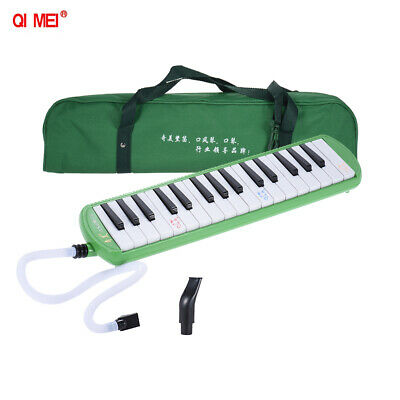 QIMEI QM32A-9 32 Piano Style Keys Melodica for Beginner Kids Children Pink P6Q0