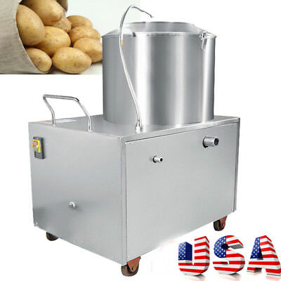Commercial Potato Peeling Machine Auto Peeler Sweet Potato Quick Cleaning Tool