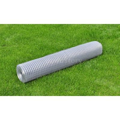 Galvanised Wire Netting Mesh Pet Poultry Fencing Chicken Coop 1mx25m 0.9 mm M3V4