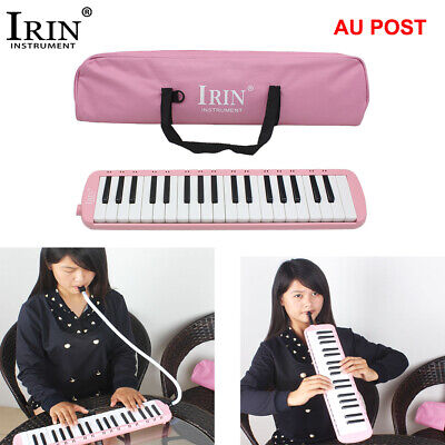 32 Piano Keys Melodica Musical Instrument for Music Lovers with Bag Blue S4A1