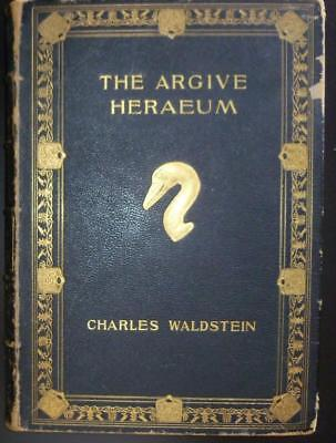 1905 The Argive Heraeum - Volume II (Only) Greek Archaeology Pottery Coins