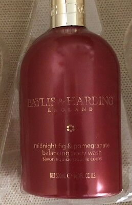 Baylis and Harding Limited Edition Midnight Fig And Pomegranate Balancing Wash