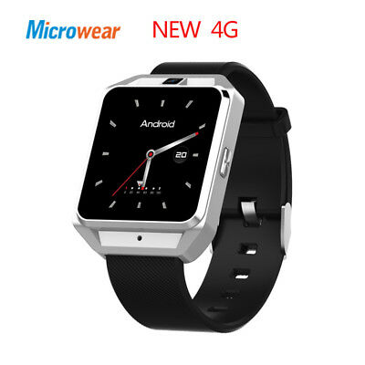Outdoors Heart Rate Monitor Android 6.0 Wifi Wearable 4G GSM Camera Smartwatch