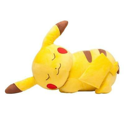 "27"" JUMBO PIKACHU Pokemon Center Nintendo Sleeping Plush Toy Pillow stuffed doll"