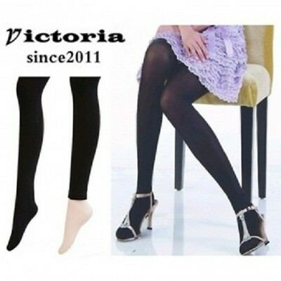 [VICTORIA]WOMEN SLENDER PANTYHOSE 150D HIGH ELASTICITY TIGHTS/LEGGINGS BLACK6pcs