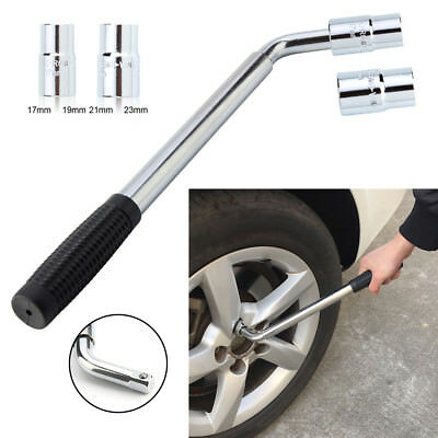 4 Size Telescopic Wheel Brace Wrench Car Van Socket Tyre Nut 17 19 21 23mm