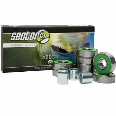 Sector 9 Cosmic ABEC 7 Longboard Skateboard Race Bearings