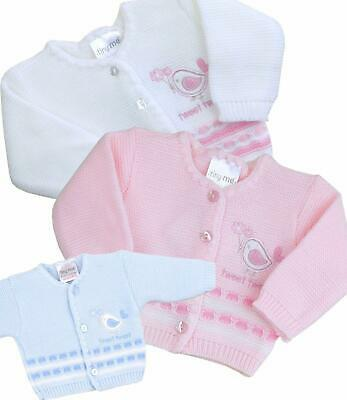 BABYPREM Baby Clothes Premature Tiny Baby Girls Boys Cardigan Cardie 3 5 8 lb