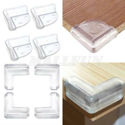 4pcs Baby Safety Table Desk Corner Protection Cover Edge Protector Bumper Proof