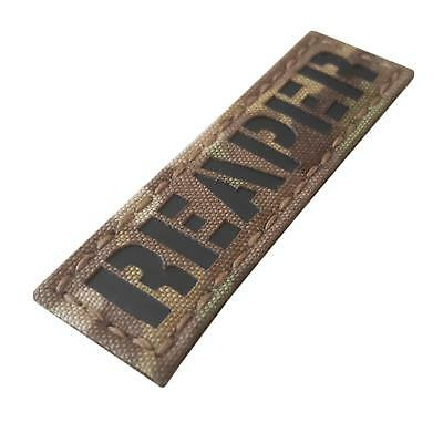 reaper infrared IR name tape tab multicam morale laser touch fastener patch