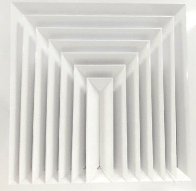 3 Way Louvre Face Diffuser 595x595 Ceiling Tile Replacement *Supply / Extract*