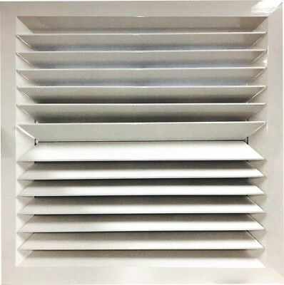 2-Way Opposite Louvre Face Diffuser 595x595 Ceiling Tile Replacement
