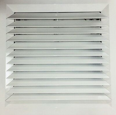 1-Way Louvre Face Diffuser 595x595 Ceiling Tile Replacement
