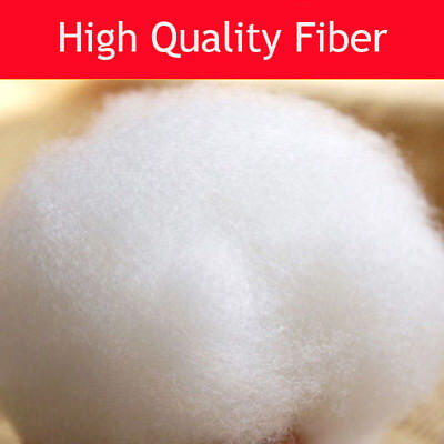 Hollow Fibre Polyester Filling Toy Teddy Bear Cushion Stuffing Soft Pillow Bed