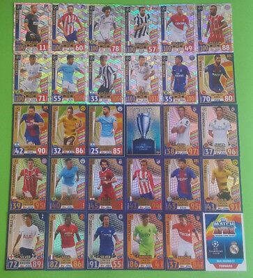 Topps Match Attax Champions League 2017/2018 Club 100 Hat-Trick Hero Limited