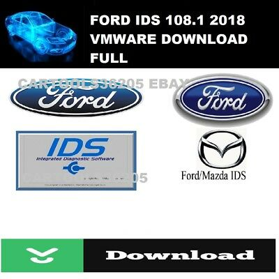 2018 FORD  SOFT IDS 108.1 & calibration 81 FULLY Activated!  Download! VMWARE