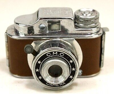 Vintage Cmc Mini Miniature Spy Camera C.m.c - Tan      Untested As-Is